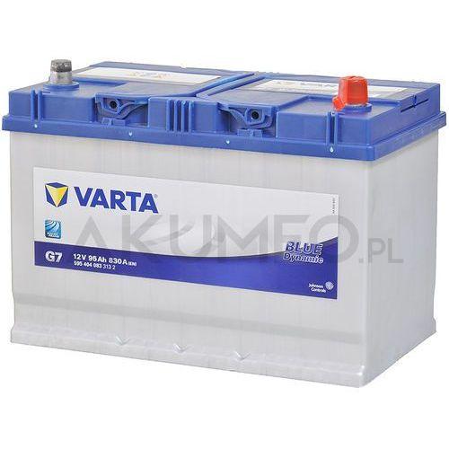 Akumulatory samochodowe, Akumulator 95Ah 830A P+ Varta Blue G7 Japan