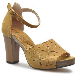 Sandały Libero 1115/235 Rude zamsz