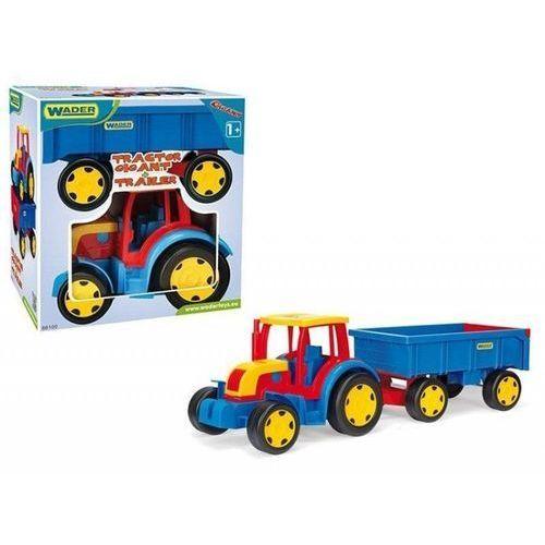 Traktory dla dzieci, Gigant Traktor z Przyczepą