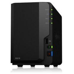 Synology DS218 2x0HDD 2GB 4x1.4G hz 1xGbE 3xUSB H265 VC-1