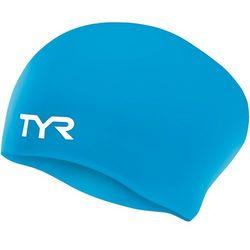 TYR Wrinkle-Free Long Hair Czepek pływacki niebieski 2018 Czepki Przy złożeniu zamówienia do godziny 16 ( od Pon. do Pt., wszystkie metody płatności z wyjątkiem przelewu bankowego), wysyłka odbędzie się tego samego dnia.