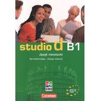 Książki do nauki języka, Studio d B1 Język niemiecki Zeszyt ćwiczeń - Niemann Rita Maria (opr. miękka)