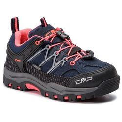 Trekkingi CMP - Kids Rigel Low Trekking Shoes Wp 3Q54554 Anthracite/Red Fluo 95BD