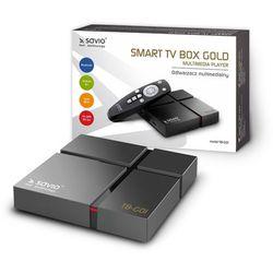 Odtwarzacz multimedialny SAVIO TB-G01 Czarny