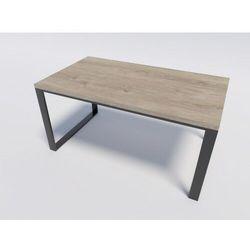 Stół industrialny do kuchni lub salonu RENO 140/90 Dąb Brunico