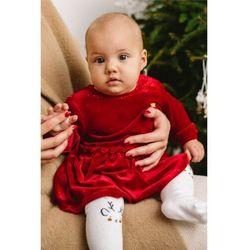 Elegancka sukienka dla niemowlaka 6K3908 Oferta ważna tylko do 2031-10-11