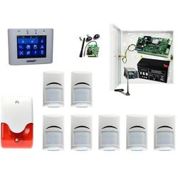 System alarmowy NeoGSM-IP-PS Ropam + 7xBosch+ TPR-2W + Sygnalizator