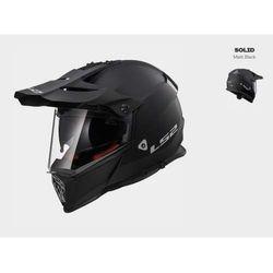 KASK MOTOCYKLOWY CROSS ENDURO LS2 MX436 PIONEER MATT BLACK czarny matt
