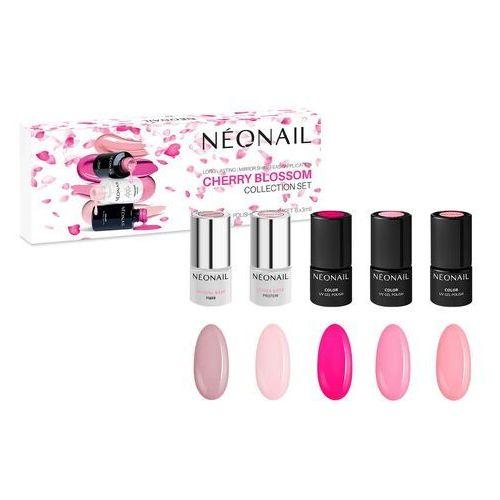 Neonail Zestaw lakierów hybrydowych cherry blossom: 5 kolorów x 3ml (5903657859524)
