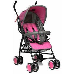 Moolino Wózek spacerówka compact rózowo-szary