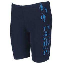 Arena spodenki bokserki boy everyday junior jammer, wzrost: 140cm, kolor: navy, fason: bokserki, materiał: poliester/lycra
