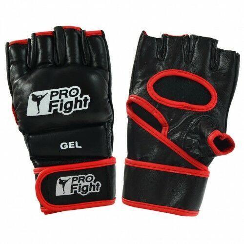 Profight Rękawice mma gloves pu czarne xl (5902860635970)