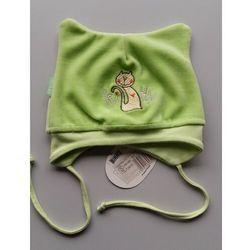 Czapka dla dziecka Birko Kitty zielona 24h ROZMIAR: 42/44, KOLOR: zielony,