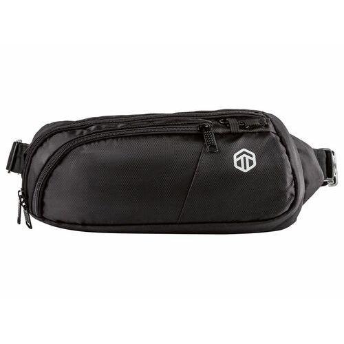 TOPMOVE® Torba lub plecak lub nerka z zabezpieczeniem przed kradzieżą, 1 sztuka (Czarny, Saszetka/nerka)