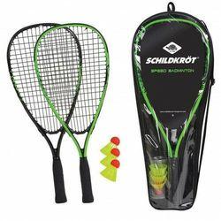 Schildkrot Zestaw speed badminton rakiety torba lotki (4000885709056)