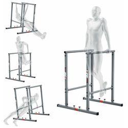 Poręcze stacjonarne do pompek treningowe do ćwiczeń mięśni brzucha uchwyt KSH025 (5907618100144)