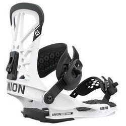 Wiązania snowboardowe flite pro (white) 2021 marki Union