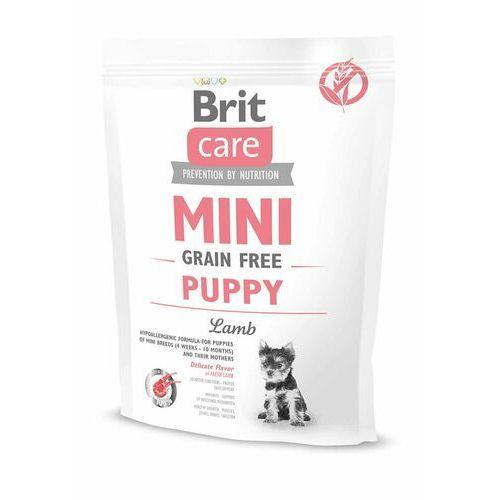BRIT CARE MINI GRAIN-FREE PUPPY LAMB 400 g, 23_3153