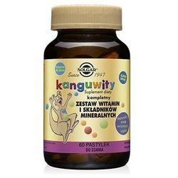 Kanguwity witaminy i minerały dla dzieci jagodowe 60 pastylek