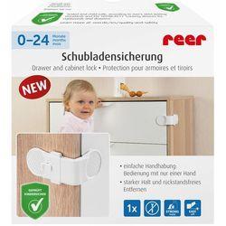 Zabezpieczenie szuflad kątowe przyklejane 3M REER, RE-71050