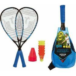 Talbot torro Zestaw speed badminton speed s6600 rakiety torba lotki (4015752901167)