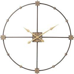 KARE Design:: Zegar ścienny Beam Ø85cm - szary
