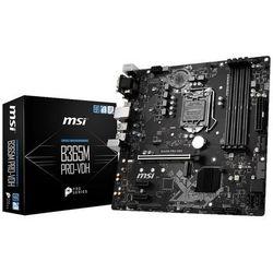 Płytka główna MSI B365M PRO-VDH DDR4 DIMM LGA 1151 Micro ATX- natychmiastowa wysyłka, ponad 4000 punktów odbioru!