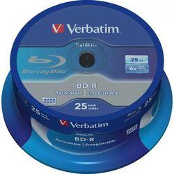 Verbatim Data Life BD-R SL 25GB 6x 25szt.