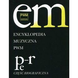Encyklopedia Muzyczna Pwm T.8 Pe-R (opr. twarda)