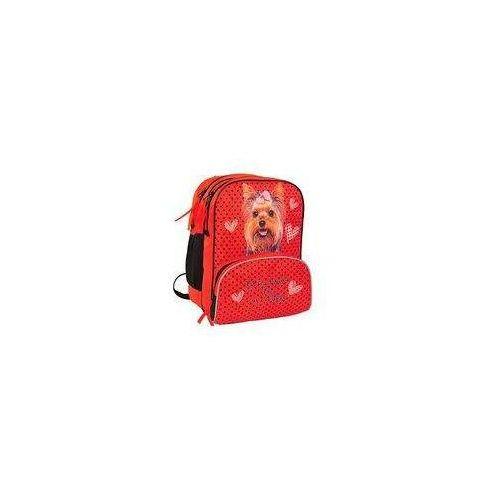 Tornistry i plecaki szkolne, Plecak It's time for a walk czerwony