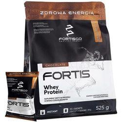 Odżywka białkowa FortisGo Whey Protein 525g - Czekolada