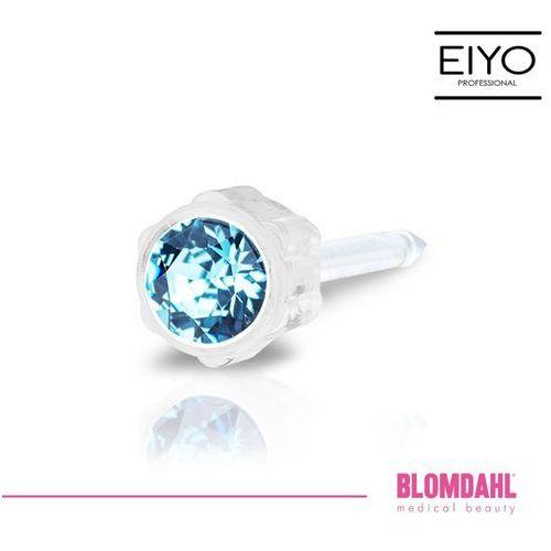 Akcesoria do kolczykowania, Kolczyk do przekłuwania uszu Blomdahl - Aquamarine 4 mm