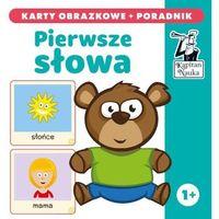 Hobby i poradniki, Kapitan Nauka Pierwsze słowa karty obrazkowe + poradnik - książka (opr. twarda)