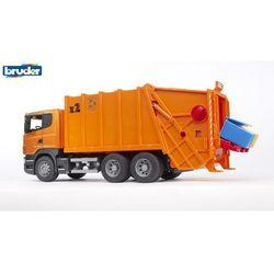 BRUDER Samochód śmieciarka SCANIA R (1:16)