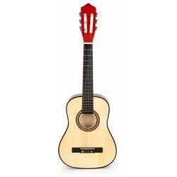 Gitara dla dzieci, drewniana, duża, 6 strun, classic