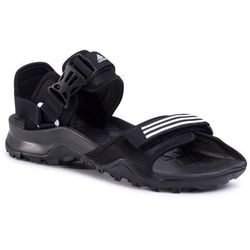 Sandały adidas - Cyprex Ultra Sandal Dlx EF0016 Cblack/Ftwwht/Cblack