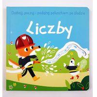 Książki dla dzieci, Dotknij, poczuj i podążaj po śladzie. Liczby (opr. kartonowa)