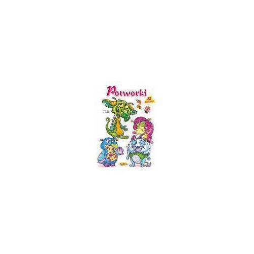 Książki dla dzieci, Potworki - Mariola Budek (opr. miękka)
