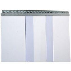 Zasłona paskowa, cena / m², szer. x grub. 400x4 mm, przykrycie 2 haków = 113 mm.