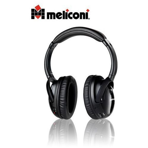 Słuchawki, Słuchawki Meliconi HP300 Professional, Czarne Darmowy odbiór w 20 miastach! Raty od 5,82 zł