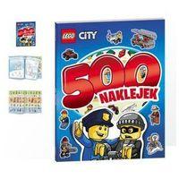 Kolorowanki, LEGO City. 500 naklejek