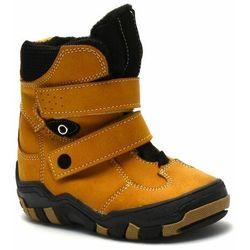 Buty zimowe dziecięce marki Kornecki 06371 Camel