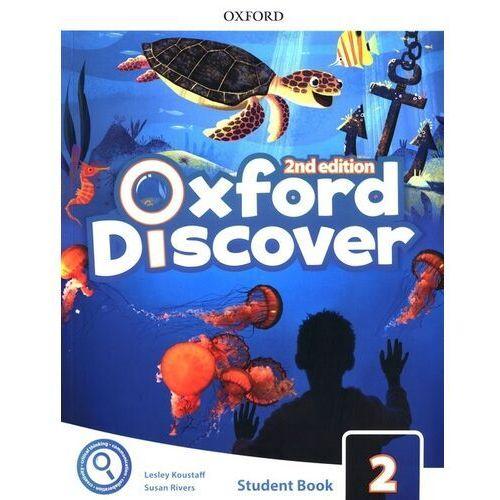 Książki do nauki języka, Oxford discover 2 student book pack - praca zbiorowa (opr. broszurowa)