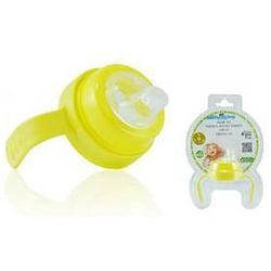 Uchwyt do butelek Pacific Baby z miękkim ustnikiem Żółte