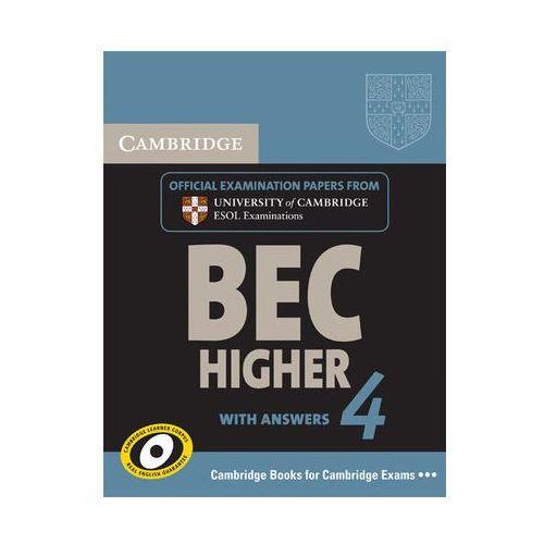 Książki do nauki języka, Cambridge BEC 4 Higher Student's Book with answers (opr. miękka)