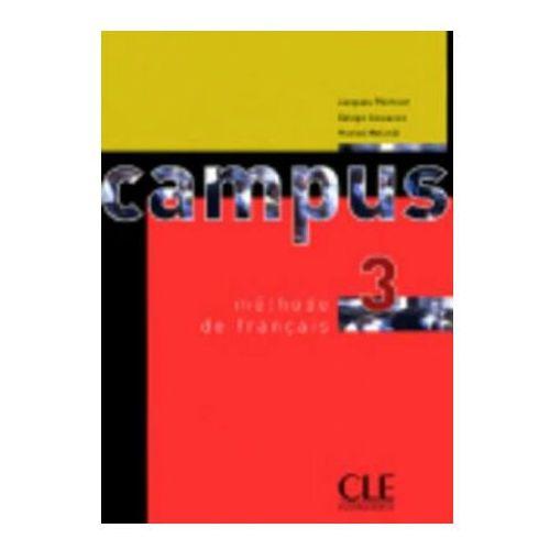 Książki do nauki języka, Campus 3. Podręcznik (opr. miękka)