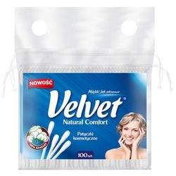 VELVET 100szt Natural Comfort Patyczki kosmetyczne