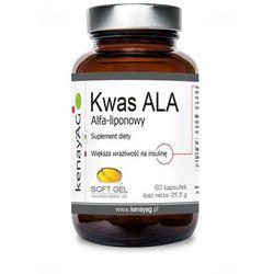 Kwas alfa-liponowy ALA 100mg 60 kapsułek kenayAG