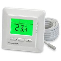 Regulator temperatury manualny pokojowy do puszki 60 biały TVT 01 Thermoval