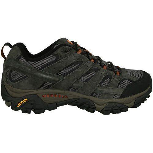 Pozostałe obuwie męskie, BUTY MERRELL MOAB 2 VENTILATOR J06015 - SZARY